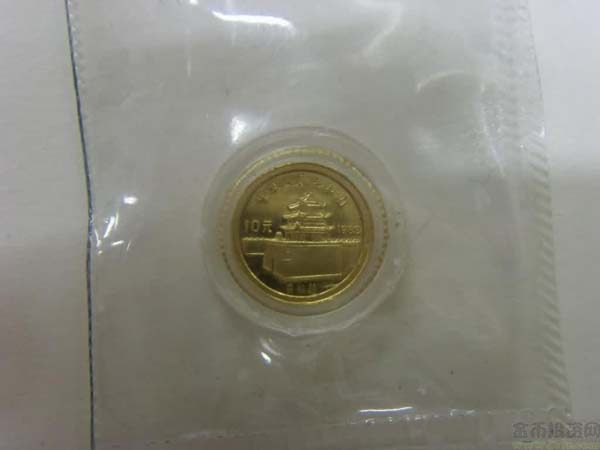 1983 Chinese Marco Polo 1g Gold Coin
